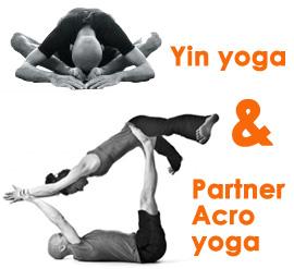 Ημέρα Partner Acro yoga & Yin yoga
