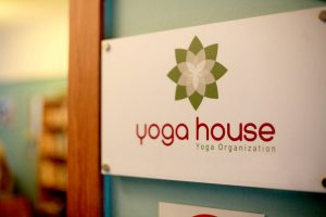Yoga House Entrance