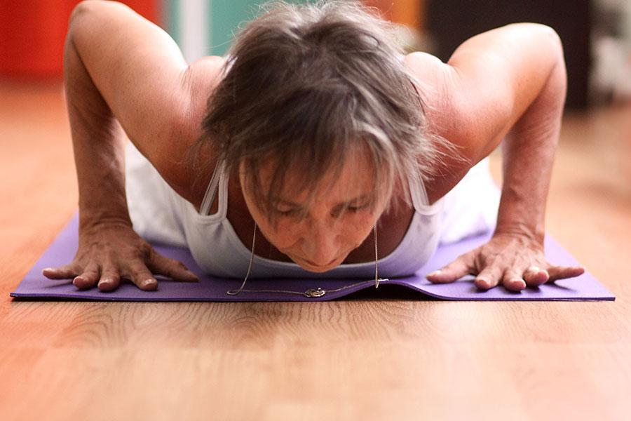 prana flow yoga class
